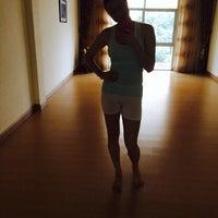 Photo taken at Studio Yoga Pattaya by Elena G. on 4/11/2014