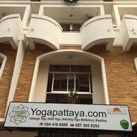 Photo taken at Studio Yoga Pattaya by Elena G. on 1/27/2014