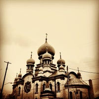 Photo taken at St. Theodosius by Michael T. on 10/27/2012