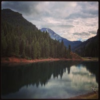 Photo taken at Tibble Fork Reservoir by @khoggie on 8/27/2013