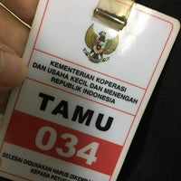 Photo taken at Kementerian Negara Koperasi dan UKM by Nur Fadilla O. on 11/22/2017