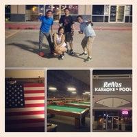 Photo taken at Reno's Karaoke and Pool by Geof B. on 6/13/2013