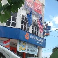 Photo taken at Bank Rakyat Dungun by cik miza on 10/8/2013