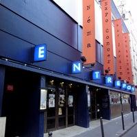 Photo taken at L'Entrepôt - Cinéma by Vélib' on 1/25/2013