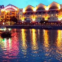 Photo taken at Clarke Quay by Charles H. on 6/8/2013