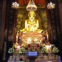 Photo taken at Wat Bowon Niwet by Arun S. on 12/2/2012