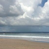 Photo taken at Legian Beach by Tatiana B. on 3/28/2013