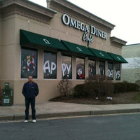 Photo taken at Omega Diner by Tiffany Jade D. on 12/31/2012