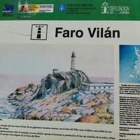 Photo taken at Faro de Cabo Vilán by Lola M. on 10/8/2012