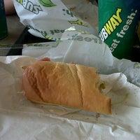 Photo taken at Subway by Roxana M. on 12/20/2012