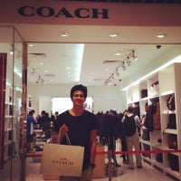 Photo taken at Coach Factory Outlet by Kristian J. on 11/9/2014