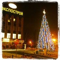 Снимок сделан в Экспострой пользователем Elena L. 12/18/2012