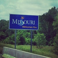 Photo taken at Missouri/Iowa State Line by Jen W. on 6/6/2014