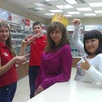 Photo taken at Салон-магазин МТС by Елена Ж. on 11/14/2012