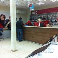 Photo taken at Салон-магазин МТС by Елена Ж. on 2/5/2013