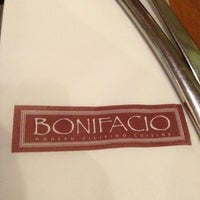 Photo taken at Bonifacio Modern Filipino Cuisine by Dindin T. on 2/23/2013