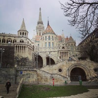 Photo taken at Fisherman's Bastion by Mariannique on 3/13/2013