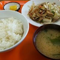 Photo taken at 青木食堂 by taramo c. on 4/9/2015