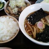 Photo taken at 美代志食堂 by taramo c. on 10/9/2014