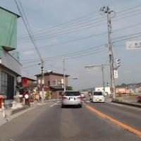 Photo taken at 船引橋 by taramo c. on 6/14/2013