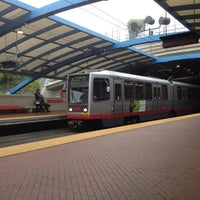Photo taken at West Portal MUNI Metro Station by Krakatau B. on 10/20/2012