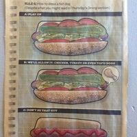Photo taken at Hot Spot Hot Dogs by Vicky on 12/22/2012
