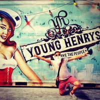 Photo taken at Young Henrys by RJ M. on 12/3/2013