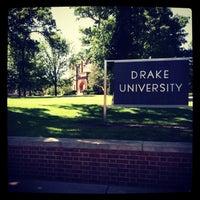 Photo taken at Drake University by Evan F. on 1/3/2013