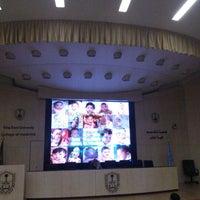Photo taken at Main Auditorium by Khalid R. on 1/31/2013