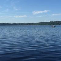 Photo taken at Round Lake by Terry H. on 7/30/2016