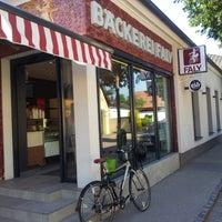 Das Foto wurde bei FALY Café Bäckerei Spezerei von Franz E. am 6/17/2013 aufgenommen