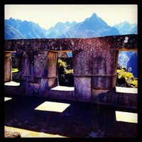 Photo taken at Templo de las Tres Ventanas by Koto G. on 5/24/2013