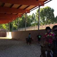 Photo taken at Hipica Allariz by Lucia D. on 8/15/2014