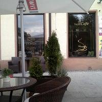 Photo taken at vanilia cafe by Marcin G. on 10/10/2013