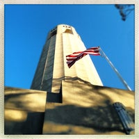 Photo taken at Coit Tower by Matthew G. on 6/13/2013