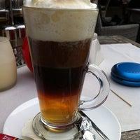 Photo taken at Restaurant De Graslei by Ilse V. on 10/8/2012