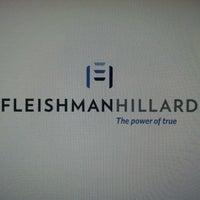 Photo taken at FleishmanHillard New York by Jeff M. on 5/1/2013