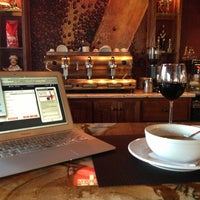 Photo taken at Sfizi Cafe by Jo on 3/9/2013