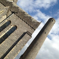 Photo taken at St Canice's Round Tower by Jo on 10/14/2013