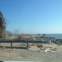 Photo taken at New Dorp Beach Park by John Frank H. on 2/15/2013