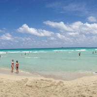 Photo taken at South Beach by Sarah D. on 4/27/2013