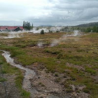 Photo taken at Haukadalur by Steffen H. on 8/15/2017