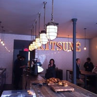Photo taken at Kitsuné Espresso Bar Artisanal by Michael D. on 6/6/2013