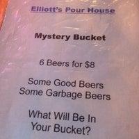 Photo taken at Elliott's Pour House by Dan L. on 11/9/2013