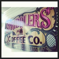 Photo taken at Scribblers Coffee Co. by Kari C. on 10/29/2013