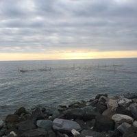 Снимок сделан в Пляж Олимпийского парка пользователем Катерина Б. 4/2/2017