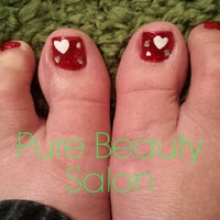 Photo taken at Pure Beauty, Nail & Hair by Sandy S. on 2/5/2015