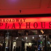 Photo taken at Broadway Playhouse by Justin R. on 10/27/2012