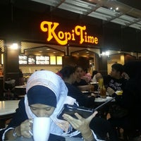 Photo taken at Kopi Time by Faiz Tom on 3/30/2013