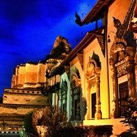 Photo taken at Wat Chedi Luang Varavihara by Pomme V. on 5/6/2013